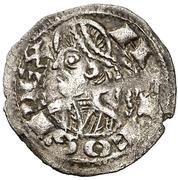 Obolo - Alfonso II (Jaca) – obverse