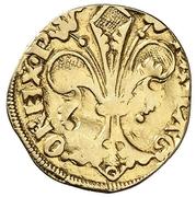 ½ Florin - Pedro IV (Zaragoza) – reverse