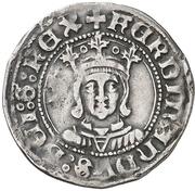 ½ Real - Fernando II (Zaragoza) – obverse