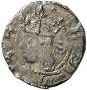 Dinero - Fernando II (Zaragoza) – obverse