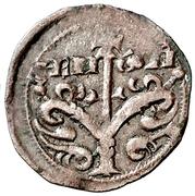 Obolo - Alfonso I (Jaca) – reverse