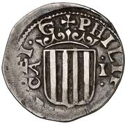 1 Real - Felipe IV (round) – obverse