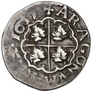 1 Real - Felipe IV (round) – reverse
