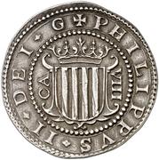 8 Reales - Felipe III – obverse