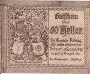50 Heller (Arbing) -  obverse