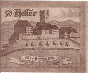 50 Heller (Arbing) -  reverse