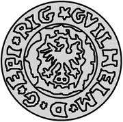 1 Schilling - Wilhelm von Brandenburg – obverse