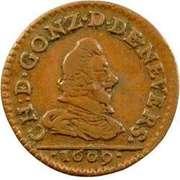Denier Tournois - Charles I (1st type) – obverse