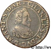 Double Tournois - Charles I (4th type) – obverse