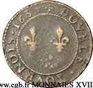 Double Tournois - Charles I (4th type) – reverse