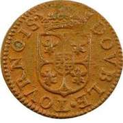 Double Tournois - Charles I (3rd type) – reverse