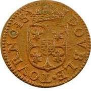 Double Tournois - Charles I (3rd type) – reverse