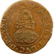 Double Tournois - Charles I (14th type) – obverse
