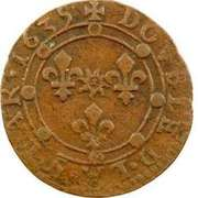 Double Tournois - Charles I (14th type) – reverse
