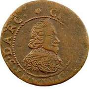 Double Tournois - Charles I (20th type) – obverse