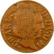 Denier Tournois - Charles II (2nd type) – obverse