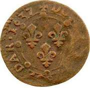 Double Tournois - Charles I (20th type) – reverse