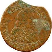 Double Tournois - Charles I (16th type) – obverse