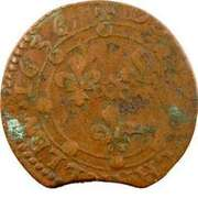 Double Tournois - Charles I (16th type) – reverse