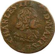 Double Tournois - Charles II (23rd type) – obverse