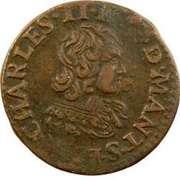 Double Tournois - Charles II (23rd type) – obverse