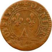 Denier Tournois - Charles II (2nd type) – reverse