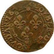 Double Tournois - Charles II (23rd type) – reverse