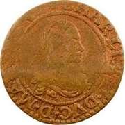 Double Tournois - Charles II (21st type) – obverse