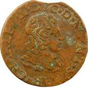Double Tournois - Charles II (24th type) – obverse