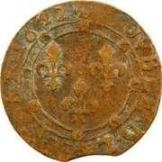 Double Tournois - Charles II (24th type) – reverse