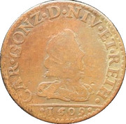 2 Liards – obverse