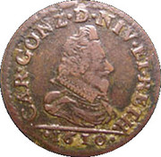 Liard - Charles I – obverse