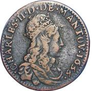 Liard - Charles II – obverse
