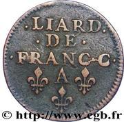 Liard - Charles II – reverse