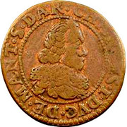 Double Tournois - Charles I (11th type) – obverse