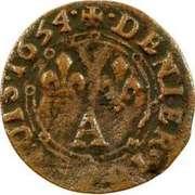 Denier Tournois - Charles II (3rd type) – reverse