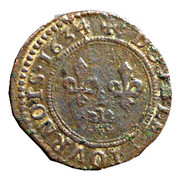 Double Tournois - Charles I (7th type) – reverse