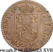 Liard Charles Ier de Gonzague au buste fin – reverse