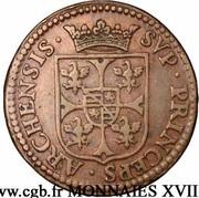 Liard Charles Ier de Gonzague au buste large – reverse