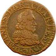 Double Tournois - Charles I (7th type) – obverse