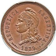 40 Centavos Fuertes -  obverse