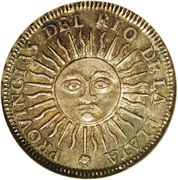 1 Sol (Provincias del Rio de la Plata) -  reverse
