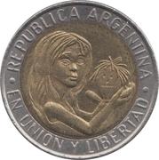 1 Peso (Unicef) -  obverse