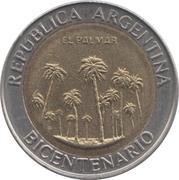 1 Peso (El Palmar) – obverse