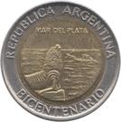1 Peso (Mar del Plata) – obverse