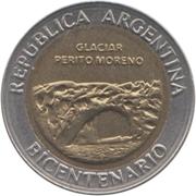 1 Peso (Glaciar Perito Moreno) -  obverse