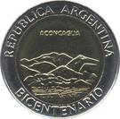1 Peso (Aconcagua) – obverse