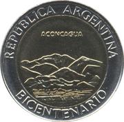 1 Peso (Aconcagua) -  obverse