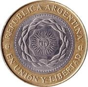 2 Pesos (May Revolution) -  obverse