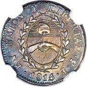 ½ Real (Provincias del Rio de la Plata) -  obverse